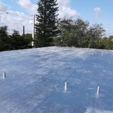 Commercial Roofing Maintenance Project on 167th St. in Miami, FL