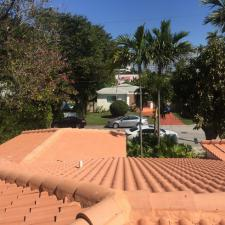 Original Tile Roofing System Removal Project on Carlisle Avenue in Miami Beach, FL