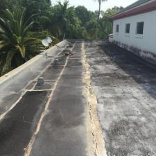 Tear Off of Existing Flat Roof Project in Hollywood, FL